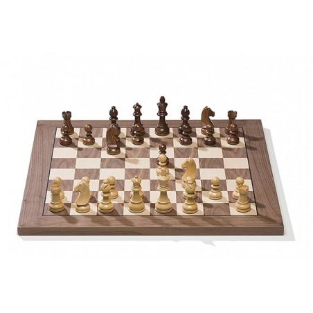 E-šachovnice turnajová - Walnut