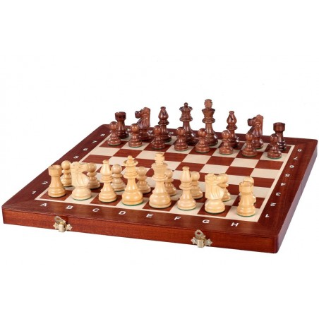 Šachy FRENCH Staunton NO.6